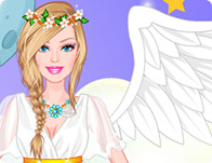 Barbie Angel Bride Dress Up