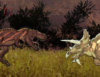 Battle of the Giant Dinosaurs