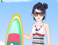 Bliinky Beach Dress Up