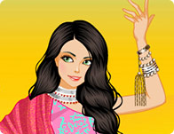 Bollywood Dancer Dress Up