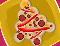 Christmas Tree Pizza