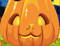 Cute pumpkin dressup