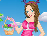 Easter Girl Dress Up