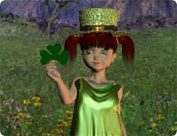 Irish Lass Dressup