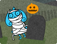 Making fiends halloween game