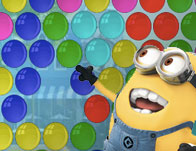 Minions Bubble Hit