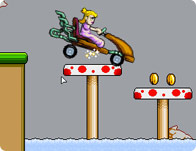 Peach Car Racer