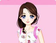 Pink Hearts Dressup