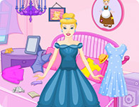 Princess Cinderella Messy Room