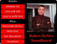 Robert De Niro Soundboard
