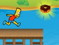 Simpsons Run Bart Run