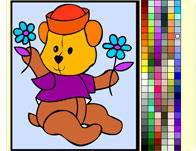 Teddy Bear Coloring