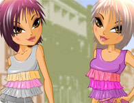Twin Sisters Dress Up