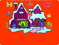 Winter Coloring 4